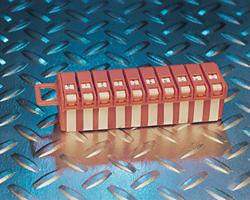 Wire Marker Labels, 0-9 Mini Dispenser