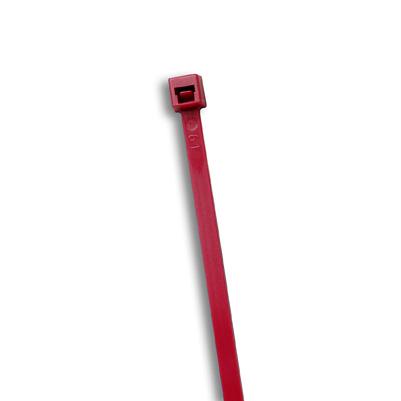Burgundy Air Handling Cable Ties, 50 lb, 7 inch