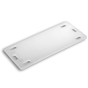 Identification Plates, Natural, 1″ x 2.37″