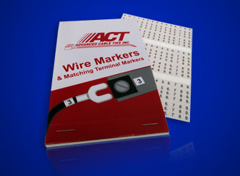 Wire Marker Labels, A-Z, 0-15, +, -, /