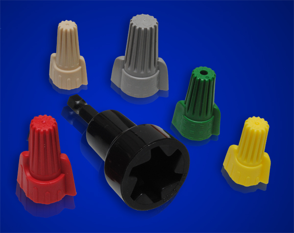 Wire Connectors, Installation Sockets, ACW-YW,TN,RD,GY / ACG-GN